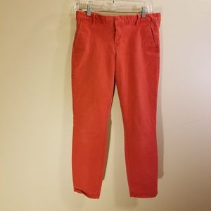 Light red GAP skinny jeans